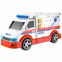 Vehicle Halsall Teamsterz Light and Sound Mini Ambulance HL 1416564