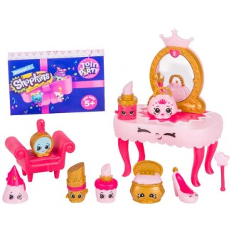 Figures Moose Toys Shopkins Season 7 Join the Party Theme Pack Princess Party ME 56356