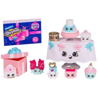 Figures Moose Toys Shopkins Season 7 Join the Party Theme Pack Wedding Party ME 56356
