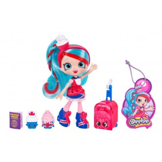 Doll Moose Toys Shopkins Shoppies World Vacation (Europe) Jessicake Visits Britain ME 56417