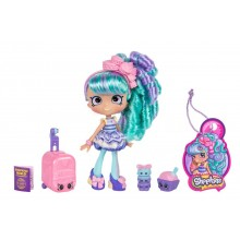 Doll Moose Toys Shopkins Shoppies World Vacation (Europe) Macy Macaron Visits France ME 56417