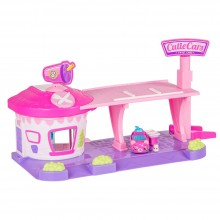 Playset Moose Toys Shopkins Series 1 Cutie Cars Drive Thru Diner ME 56538