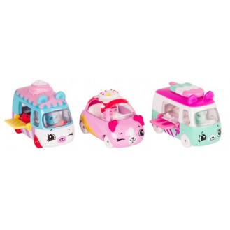 Playset Moose Toys Shopkins Series 1 Cutie Cars 3 Pack Freezy Riders ME 56611