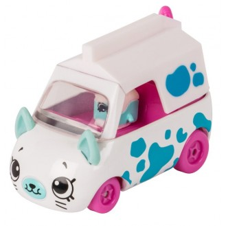 Playset Moose Toys Shopkins Series 1 Cutie Cars Milk Moover ME 56952