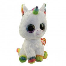 Soft Toy Ty Inc. Beanie Boos White Unicorn Pixy MR 37157