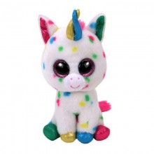 Soft Toy Ty Inc. Beanie Boos Speckled Unicorn Harmonie MR 37266