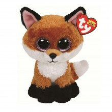 Soft Toy Ty Inc. Beanie Boos Brown Fox Fay MR 90241