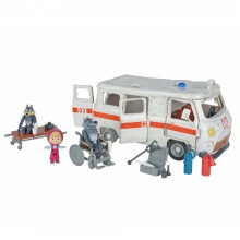 Playset Simba Toys Masha and the Bear Ambulance SB 9863
