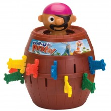 Childrens Action Game Tomy Pop-Up Pirate TM 7028