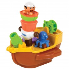 Bath Toy Tomy Aqua Fun Pirate Ship TM 71602