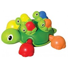 Bath Toy Tomy Aqua Fun Turtle Tots TM 72097