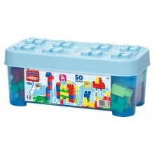 Building Bricks Ecoiffier Abrick Blue Box SM 007786