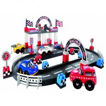 Playset Ecoiffier Abrick Fast Car Racing Track SM 3079