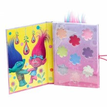 Makeup Set for Girls Giochi Preziosi Trolls Book Pocket GP TRL04
