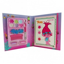 Makeup Set for Girls Giochi Preziosi Trolls Book GP TRL05