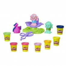 Modeling Compound Hasbro Play-Doh Dreamworks Trolls Press 'n Style Salon B9027