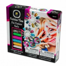 Nail Kit Diamant Toys Foil Fashion Nails DM 12431
