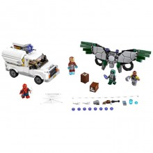 Building Bricks Lego Marvel Super Heroes Beware the Vulture LE 76083