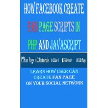How user create page on facebook in php - e-Books
