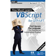 Learn VBScript for QTP/UFT - e-Books