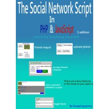 Social network code in PHP and Javascript - e-Books