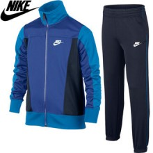 Sweatsuit kid`s Nike Track Suit Pack Poly Blue