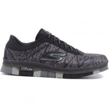 Sports women`s shoes Skechers Go Flex BKGY
