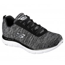 Sports Women`s Shoes Skechers Flex Appeal 2.0 BKW