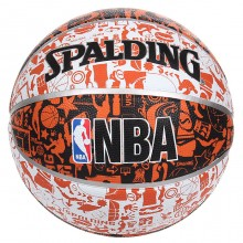 Basketball ball Spalding NBA Grafiti