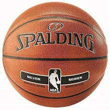 Basketball ball Spalding NBA Silver