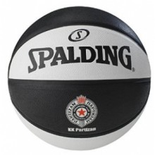 Basketball ball Spalding Partizan Out