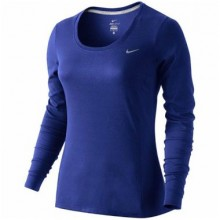Sports Women`s Shirt Nike Dri-FIT Contour 455