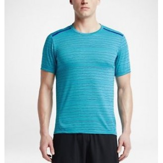 Sports Men`s Shirt Nike Tailwind Stripe 418