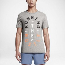 Sports Men`s T-Shirt Nike Run P Hustle 063
