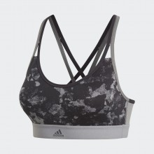 Sports Women`s Bra Adidas All Me Printed 401