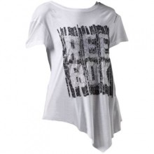 Sports Women`s T-Shirt Reebok Dance Asymmetric 779