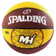 Basketball ball Spalding Miami Heat