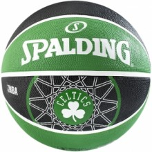 Basketball ball Spalding Boston Celtics