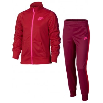 Sweatsuit womens Nike Sportswear Warm-Up Red d0571d166