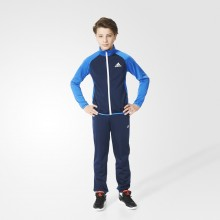 Track suit kids Adidas Entry Closed Blue