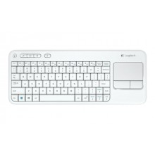 Wireless Keyboard Logitech K400 Plus Wite