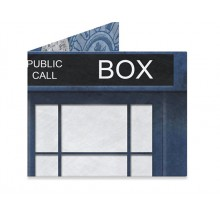 Mighty wallet Dynomighty Blue Police Box 1