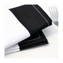 Cotton napkin Remember Black Block