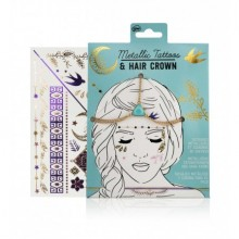 Metallic Tattoos NPW Hair Crown