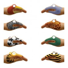 Animal Hands Temporary NPW Tattoos