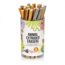 Jungle Pals Extruded NPW Erasers