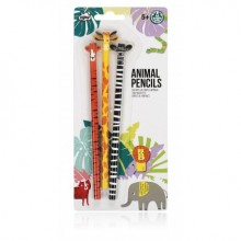 Jungle Pals Animal NPW Pencils