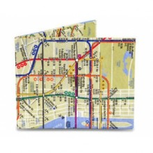 Wallet Dynomighty - NYC Subway Map