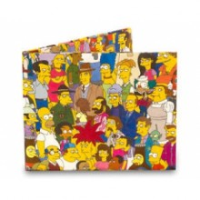 Wallet Dynomighty - Simpsons Cast