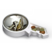 Container for spare change - Key Dish
